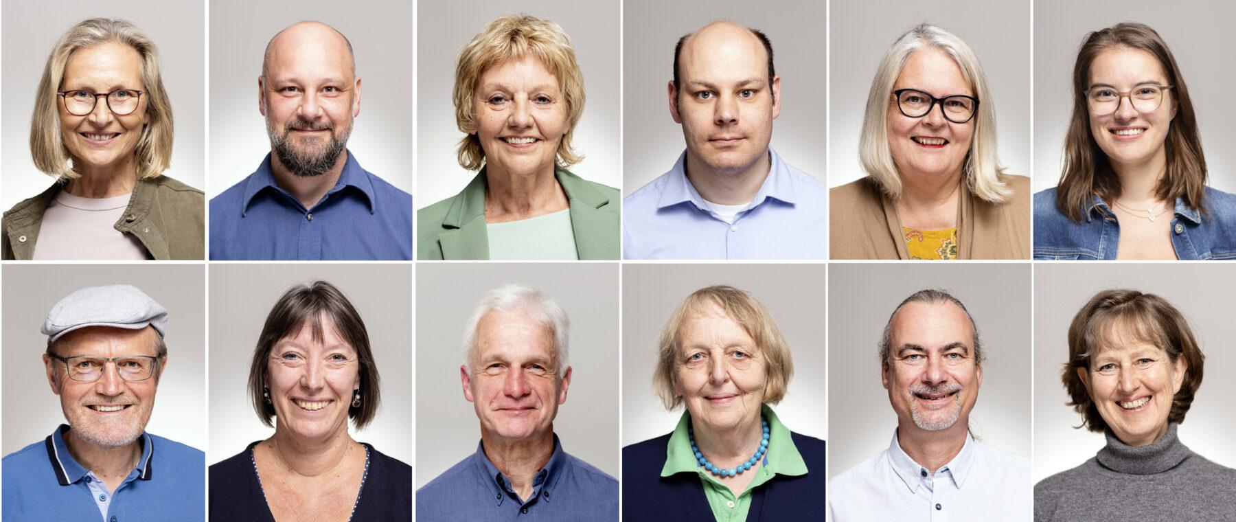 Die Kandidat*innen der Kreistagsliste