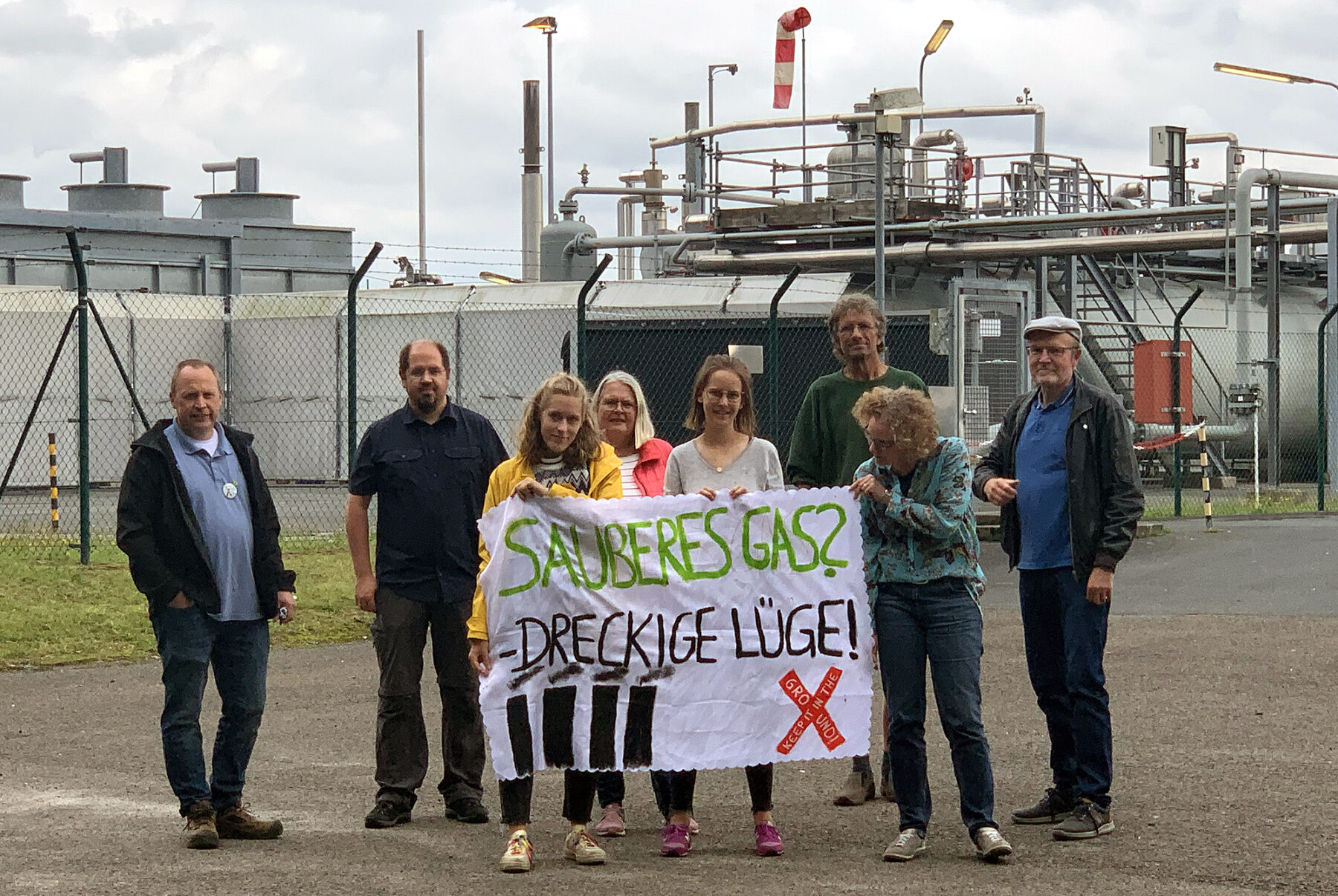 Erdgas: Forderungspapier vorgestellt